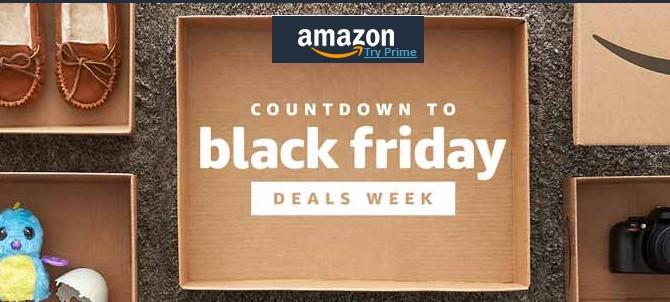 Amazon так же начинает чуть раньше распродажу