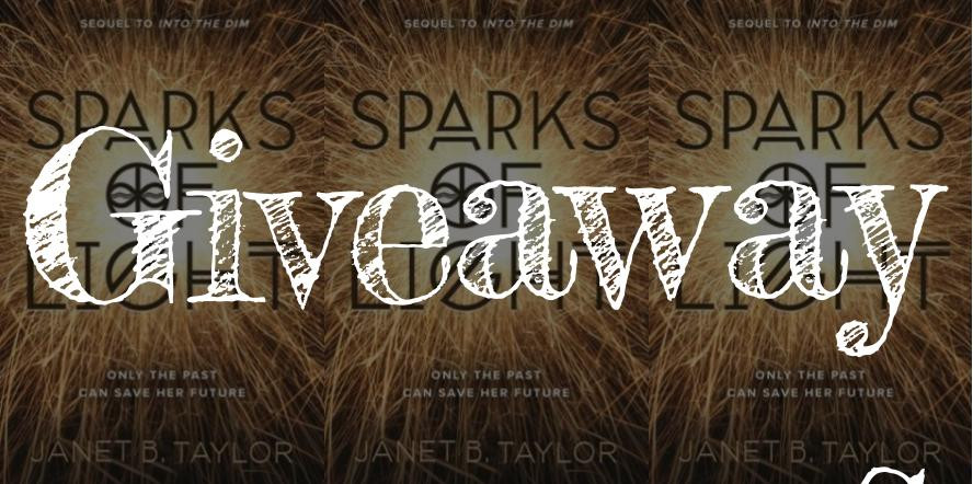 Sparks Of Light Giveaway