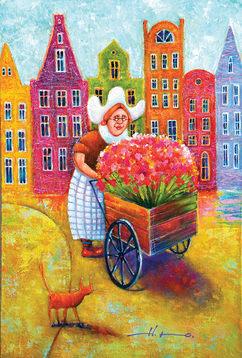 Flower Girl from Amsterdam