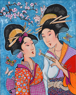 The Couple Geisha