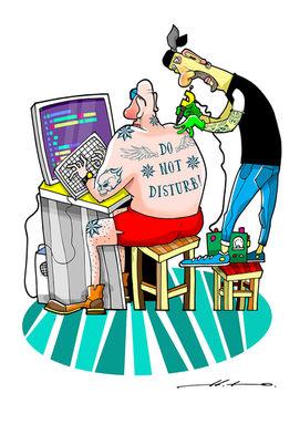 Tattoo Artist 3