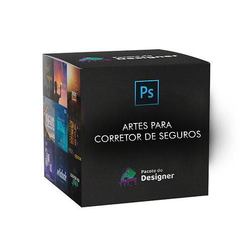 PACK DE ARTES CORRETOR DE SEGUROS