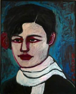 Clair 127x102cm, Oil on canvas