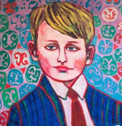 A portarit of young Drago Nicolas