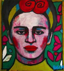 Margarita 110x100cm, Oil on canvas