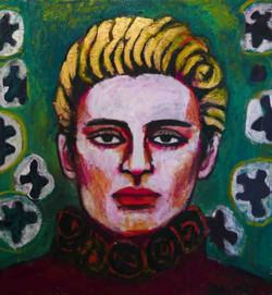 Belen 140x140cm, Oil on canvas