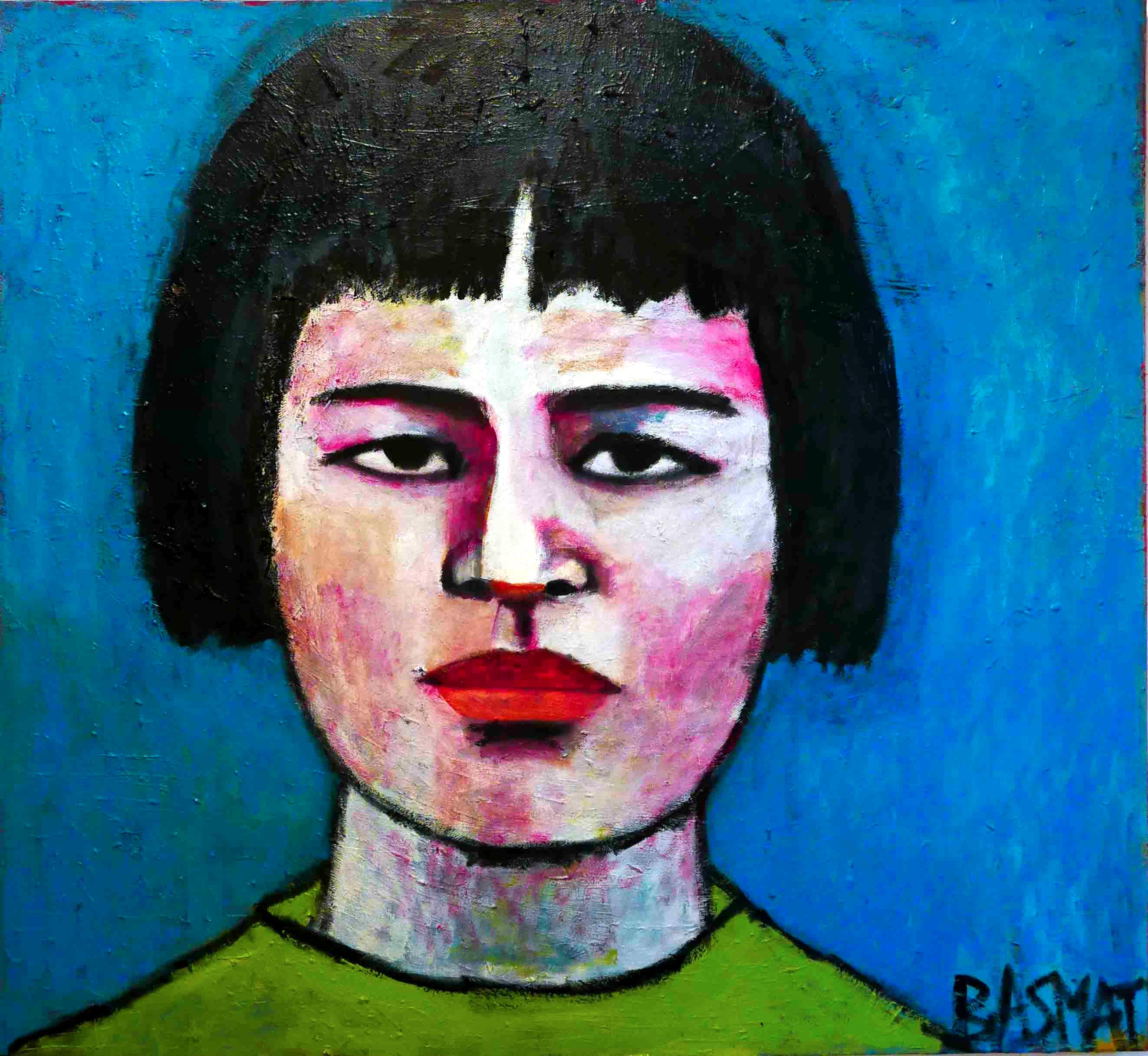 Yukio 140x140cm, Oil on canvas