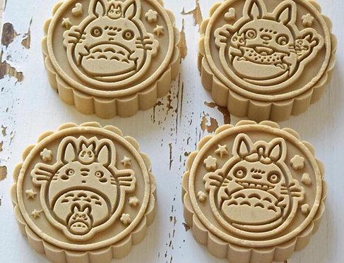龍貓奶黃月餅DIY 套裝