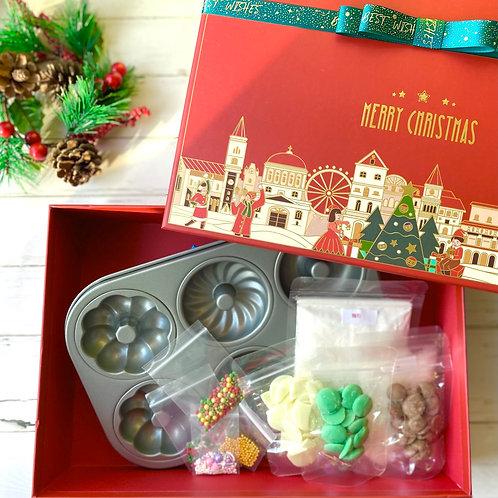 聖誕Doughnut DIY禮盒套裝