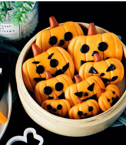 Halloween 南瓜饅頭DIY套裝