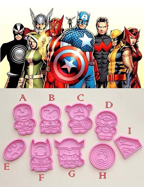 Marvel 曲奇教學DIY 套裝