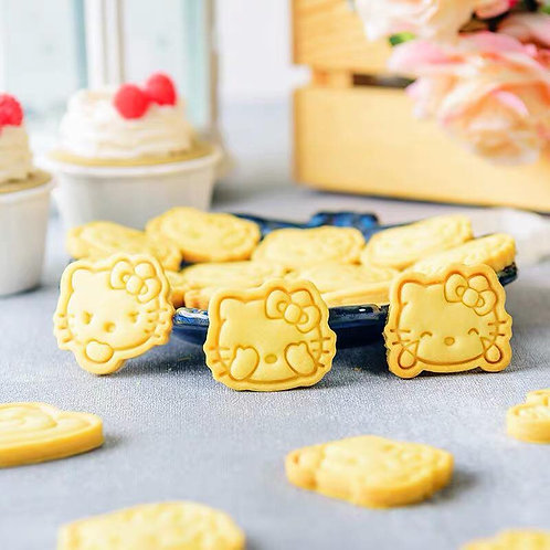 Mini Hello Kitty 曲奇教學DIY 套裝