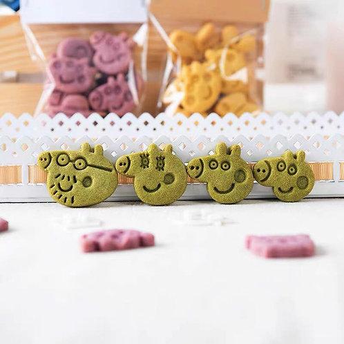 Mini Peppa pig 曲奇教學DIY套裝