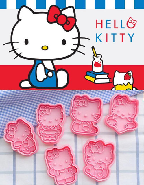 Hello Kitty 曲奇教學DIY 套裝