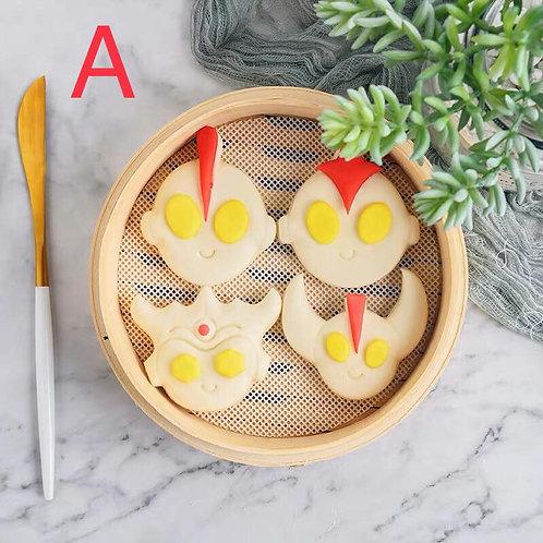 咸蛋超人饅頭教學DIY 套裝