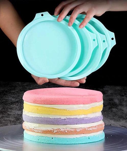 彩虹戚風蛋糕模