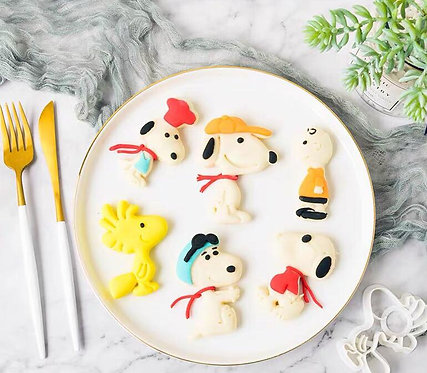 Snoopy 饅頭教學DIY 套裝