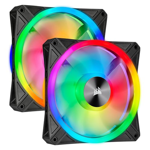 Corsair iCUE QL140 RGB (2 Fan Pack with Lighting Node Core)
