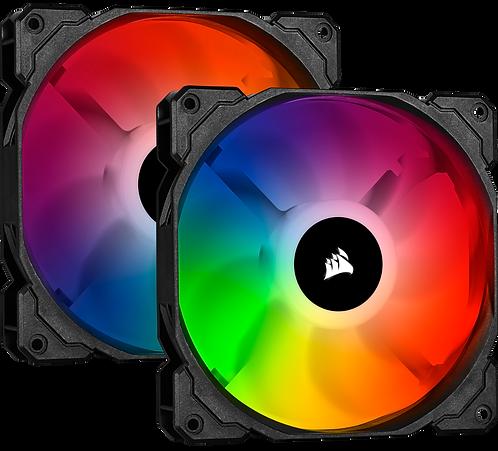 Corsair SP140 RGB Pro (2 Fan Pack with Lighting Node Core)