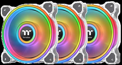 Thermaltake Riing Quad 12 RGB Radiator Fan TT Premium Edition White (3-Fan)