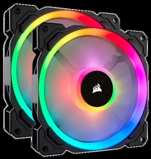 Corsair LL140 Dual Light Loop RGB (2 Fan Pack with Lighting Node PRO)