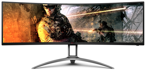 AOC AGON AG493UCX Curved Gaming Monitor