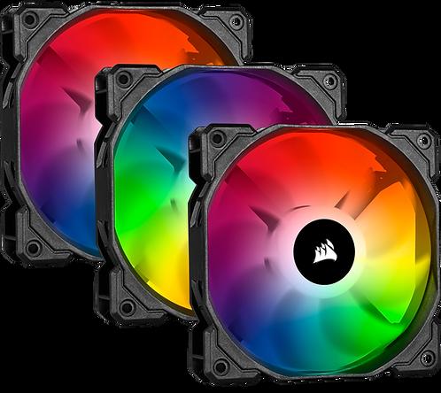 Corsair SP120 RGB Pro (3 Fan Pack with Lighting Node Core)