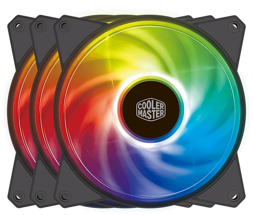 Cooler Master MasterFan MF120R ARGB 3in1 Pack