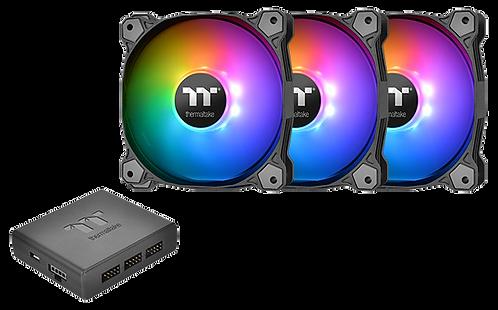 Thermaltake Pure Plus 14 LED RGB Radiator Fan TT Premium Edition (3-Fans)