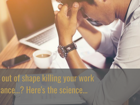 Is being out of shape killing your work performance?