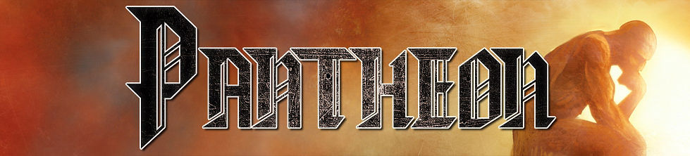 Logo from the official PANTHEON metal band website