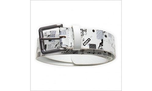 white colour ION Chaos Belt front view