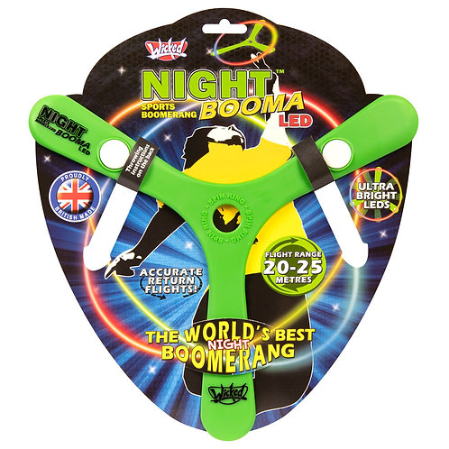 Wicked Boomerang: Night Booma LED
