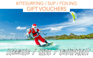 XMAS KITEBOARDING / STAND UP PADDLE /FOILING/ EQUIPMENT GIFT VOUCHERS / CHRISTMAS