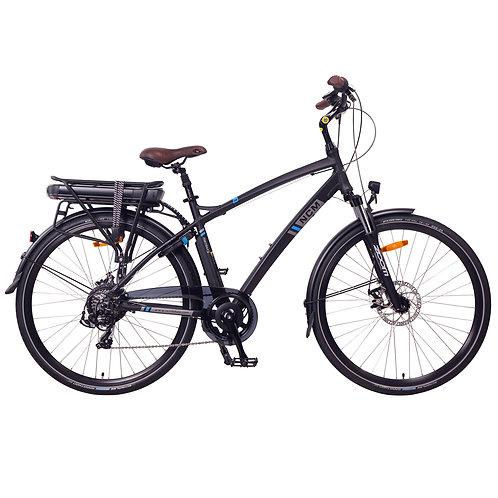 "NCM Hamburg Trekking E-Bike, City-Bike, 250W, 36V 13Ah 468Wh Battery 28"" Black"