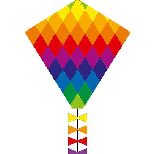 Ecoline: Eddy Rainbow Patchwork 50 cm