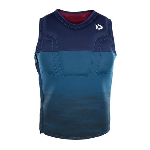 2019 DUOTONE Kite Vest Waist blue colour front view