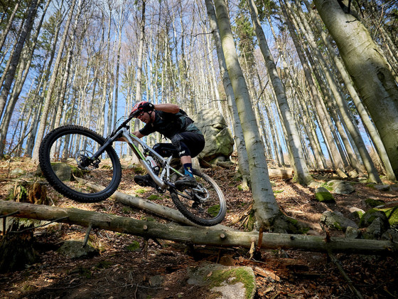 Red Bull and Pinkbike showcasing Michal Prokop on his Rock Machine at Home