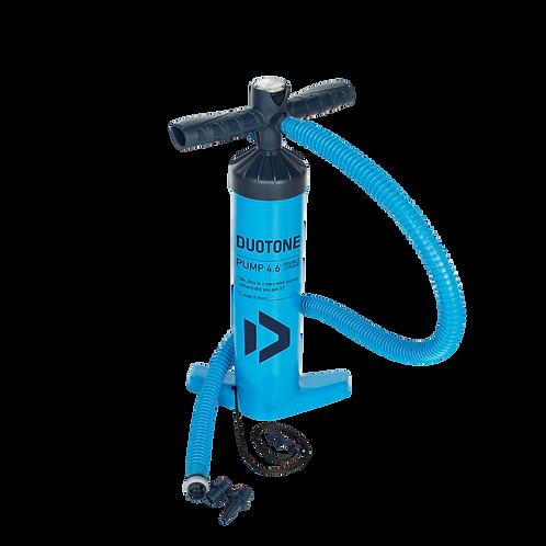 2019 Duotone kiteboarding pump L size blue colour front view