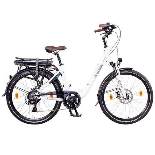 NCM Munich Electric Trekking Bike, E-Bike, E-Treking, 250W, 36V 13Ah 468Wh [Whit