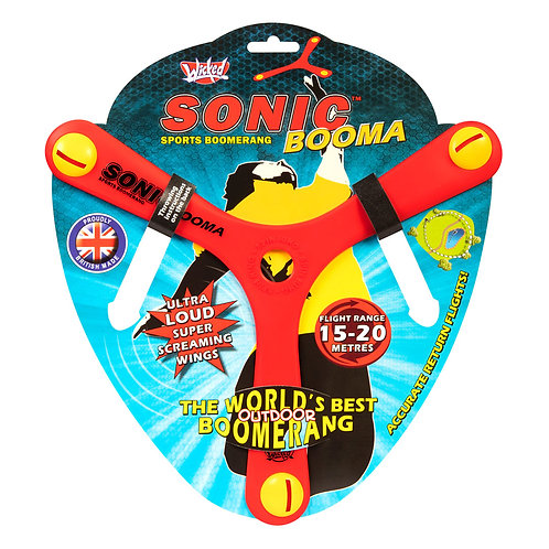 Wicked Boomerang: Sonic Booma