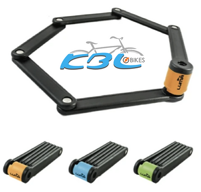 LUMA High Security Folding Bike Lock 80cm (3 colours)