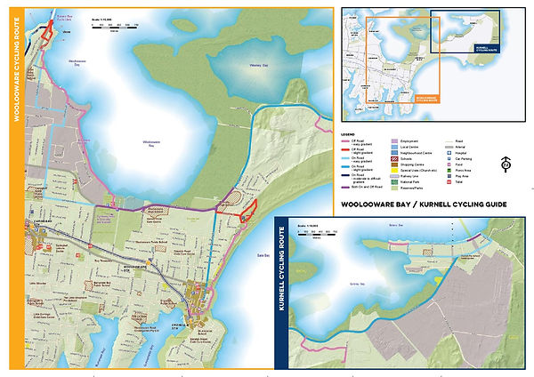 cycling-guide-kurnell-to-woolooware-bay-