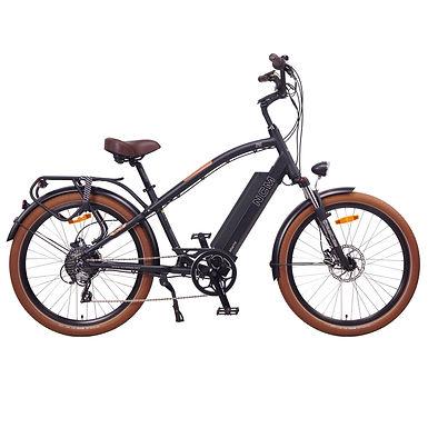 NCM E-Bike Miami Cruiser, 48V 16Ah 768Wh [Black 26]