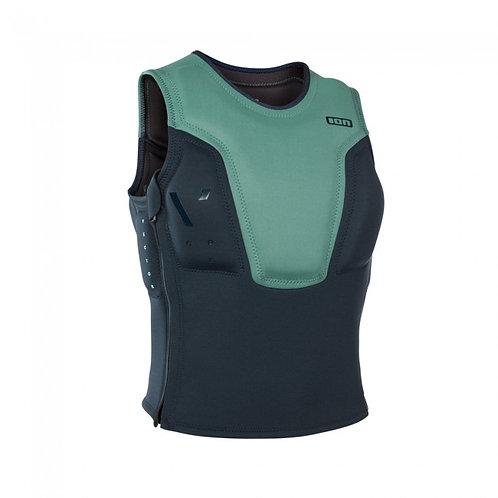 2019 ION Vector Vest Core SZ sea green/dark blue colour front view