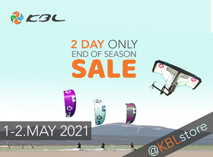 End of Season Kiteboarding/ SUP/ Foil / Wing SALE 2 days only @ KBL Store & Online!
