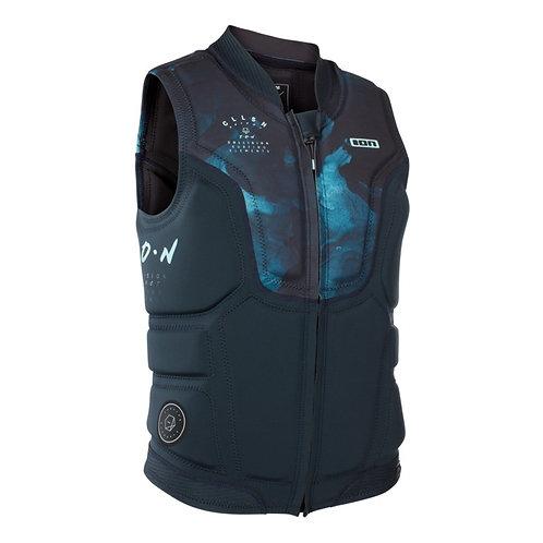 2019 ION Collision Vest Select FZ dark blue capsule colour front view