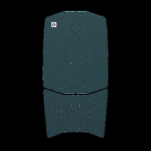 2019 Duotone Traction Pad Front (4pcs) grey colour front view
