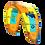 2019 Dice Duotone North yellow Kite allrounder