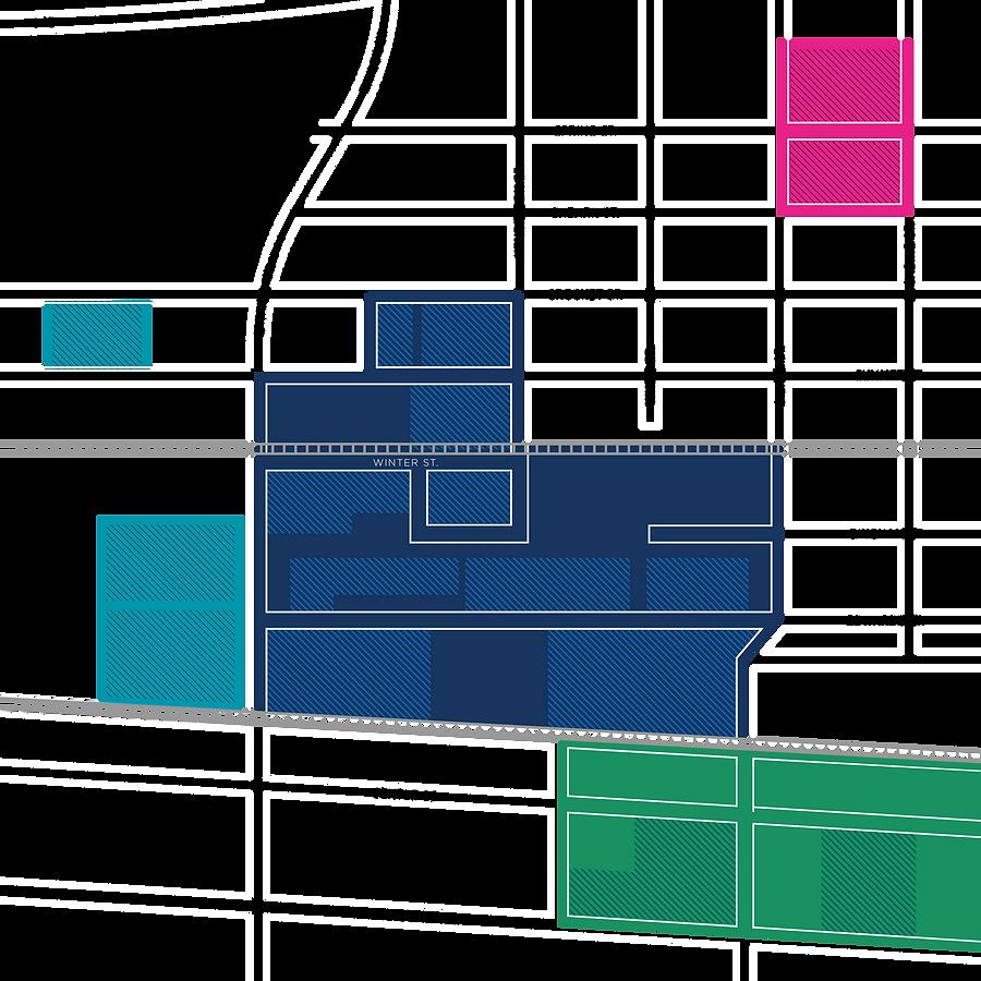 Map of Sawyer Yards Yard Map on